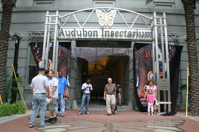 Audubon Butterfly Garden And Insectarium New Orleans