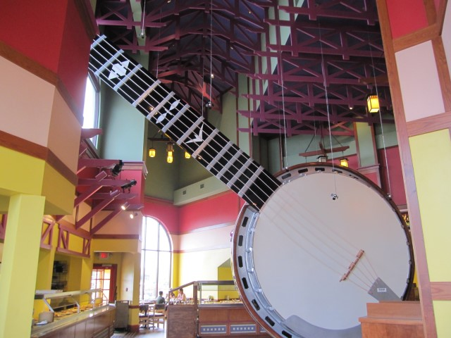 Big banjo in Branson