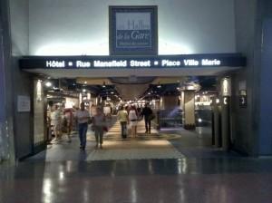 Les halles de la Gare