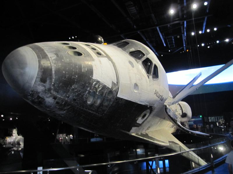 Space Shuttle Atlantis.