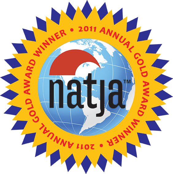 North American Travel Journalists Association (NATJA) Gold 2011 Annual Award Winner
