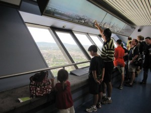 Observation floor