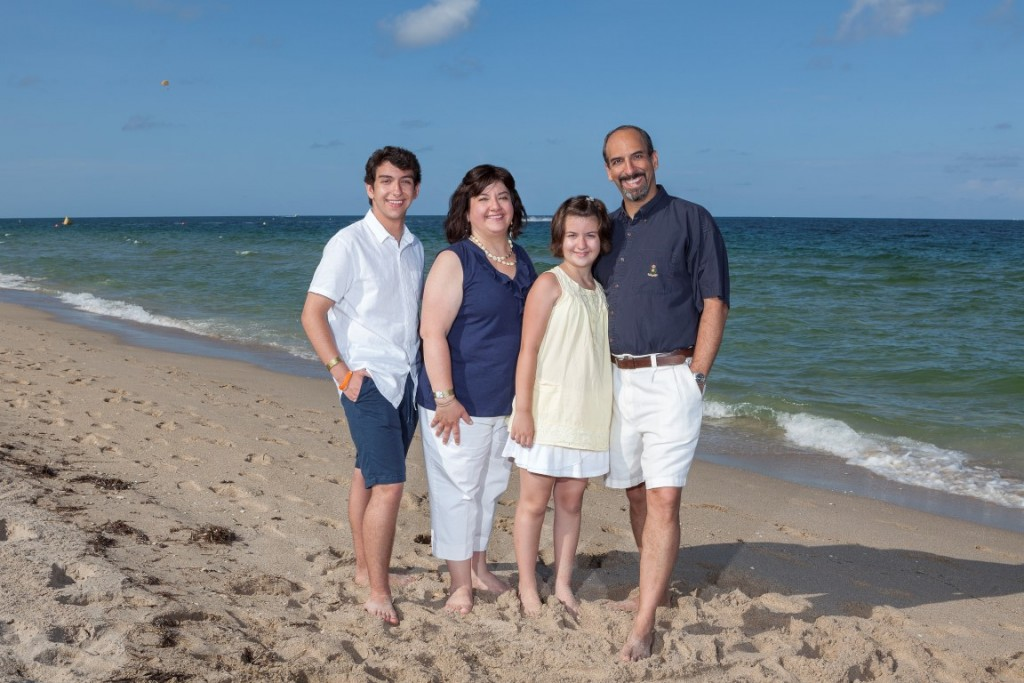 In Fort Lauderdale this summer, when we paid someone else to take the photos for once. It was great!