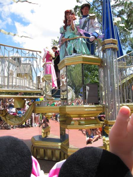 Disney parade