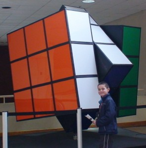 World's largest Rubik's Cube