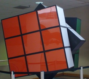 World's Largest Rubiks Cube