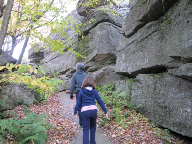kids hiking