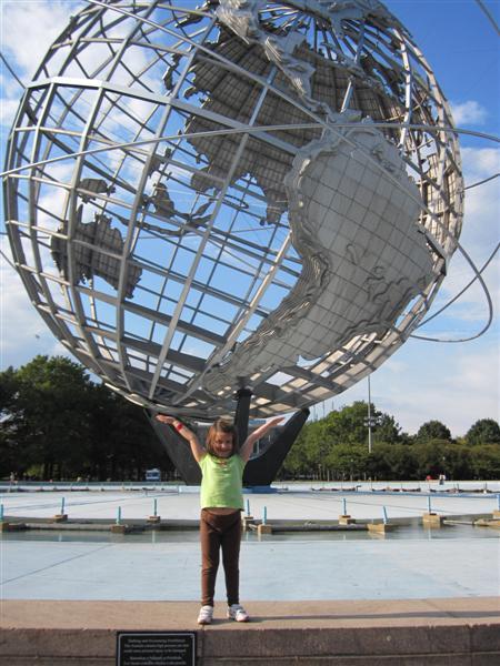 Unisphere globe