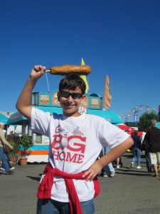 Worlds largest corn dog