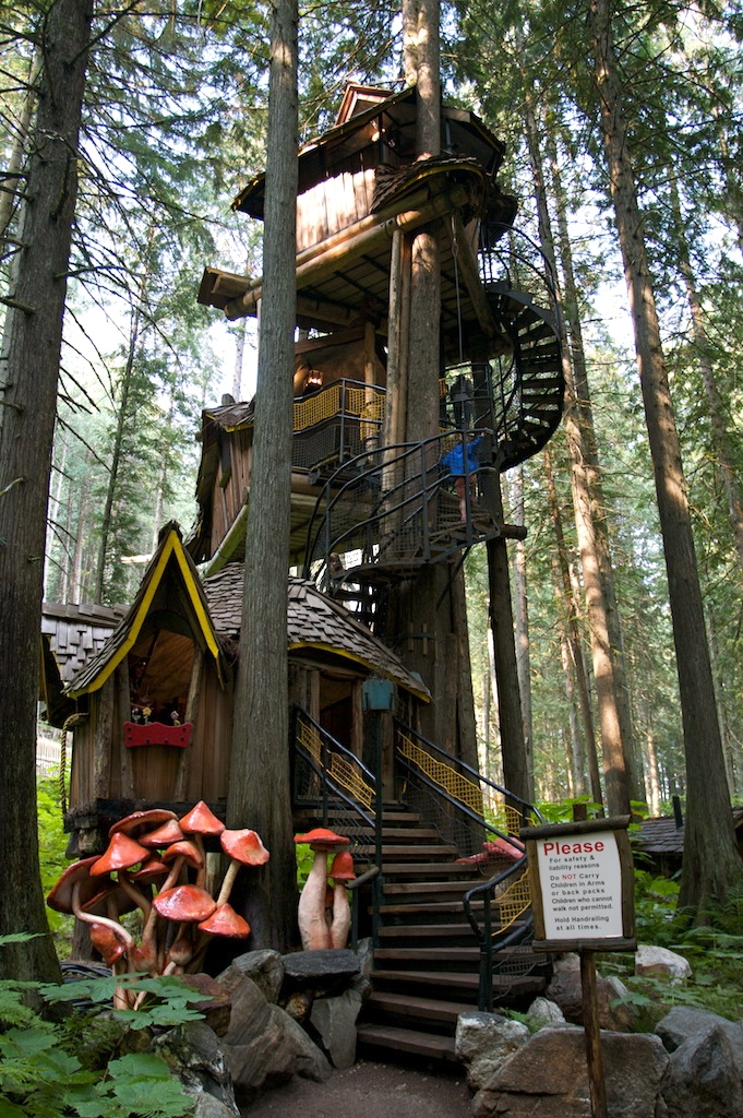 tallest treehouse